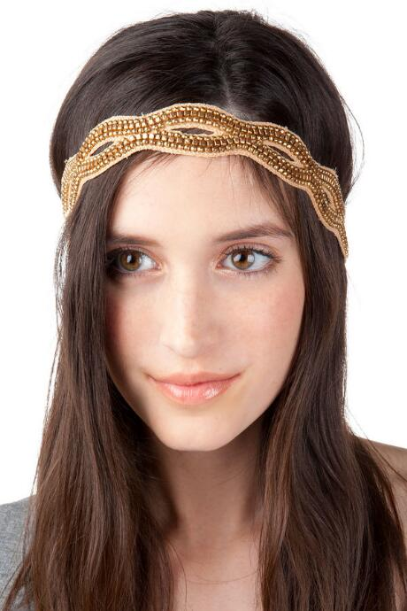 Bethany Antique Head Wrap