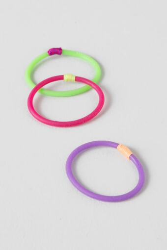 3 Pack Silicon Hair Ties