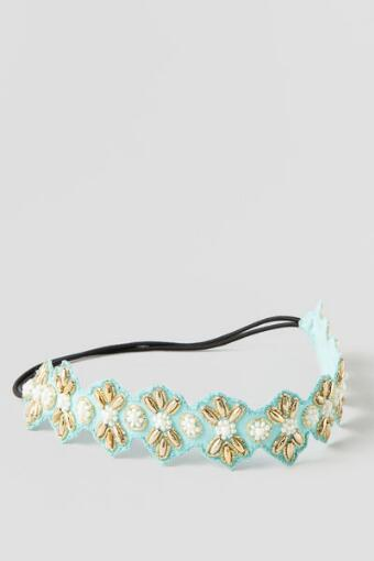 Hayes Beaded Hair Wrap