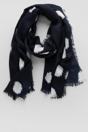Abstract Dots Scarf