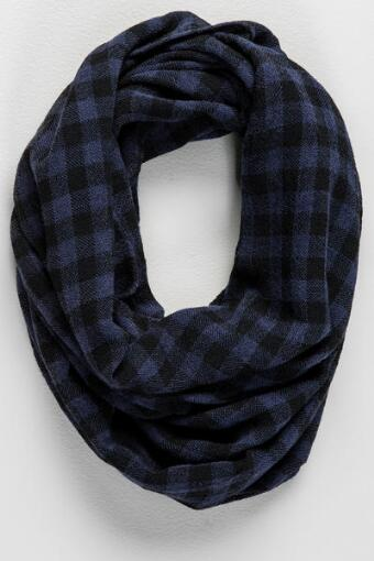 Greeley Checkered Loop Scarf