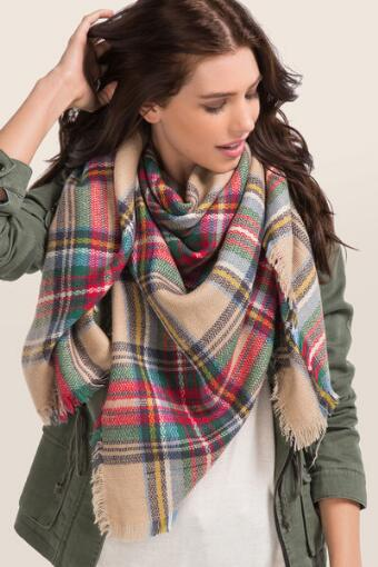 Pretty Plaid Wrap