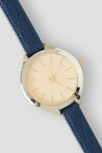 Nara Skinny Watch in Navy