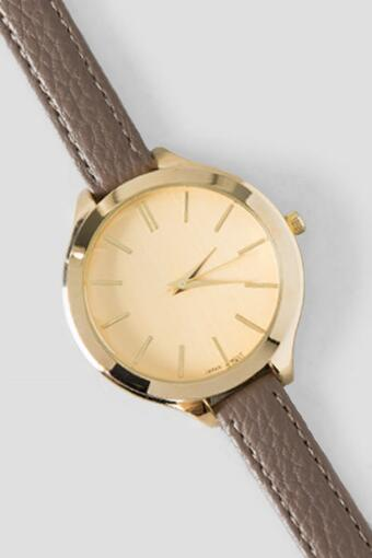 Nara Skinny Watch in Taupe