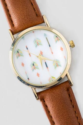 Color Vert Arrow Watch