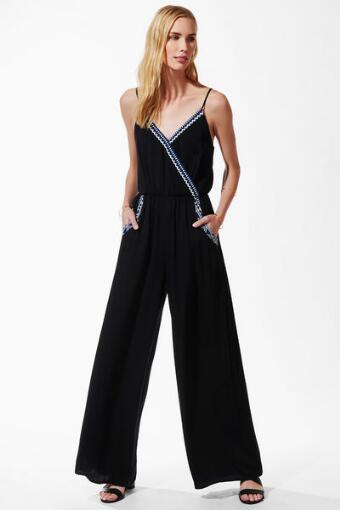 Chantel Mosaic Trim Jumpsuit