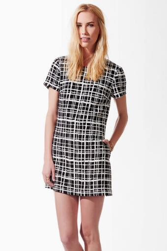 Eden Plaid Skort Dress