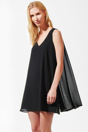 Zoeie Cape Dress