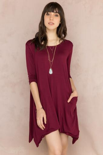 Bailee Knit Shift Dress