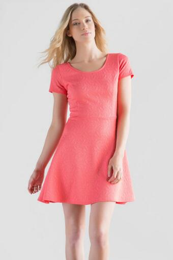 LaBelle Textured Dress