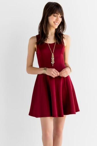 Ruby Lane Solid Dress