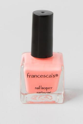 Brunch-A-Holic Coral Nail Lacquer