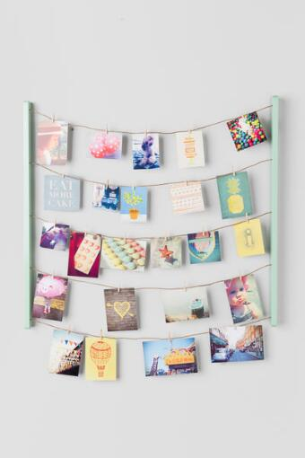 Hang It Photo Display in Mint