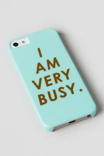 I am Very Busy iPhone 5 Case