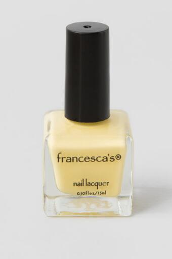Butter Me Up Yellow Nail Lacquer