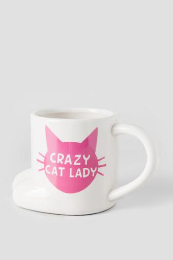 Ceramic Crazy Cat Lady Mug