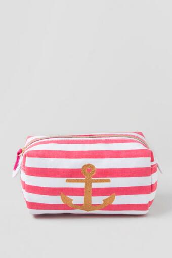 Anchors Away Cosmetic Pouch