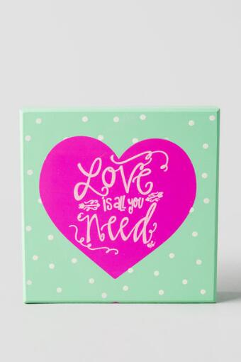 Love is All You Need Box Sign