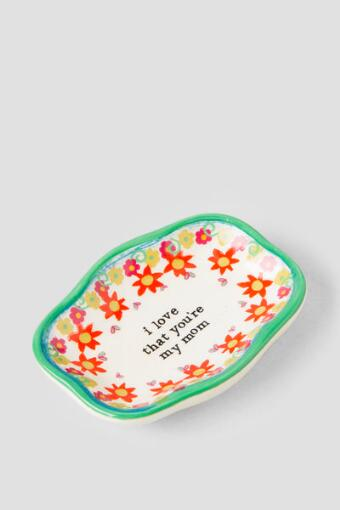 Ceramic Mom Artisan Trinket Dish