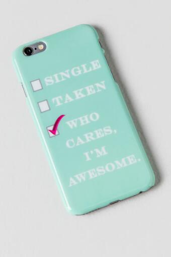 Who Cares I'm Awesome iPhone 6 Case