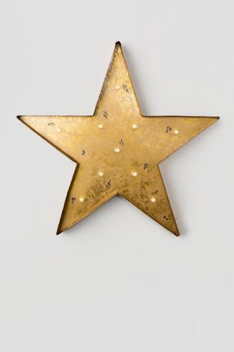 Gold Star Marquee Light
