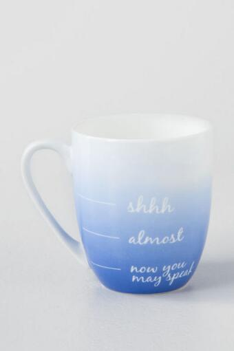 Now You May Speak Ombre Mug