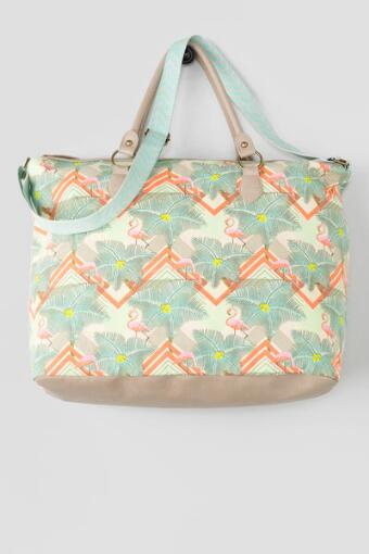 Flamingo Weekend Tote
