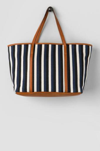 Mary Beth Stripe Tote