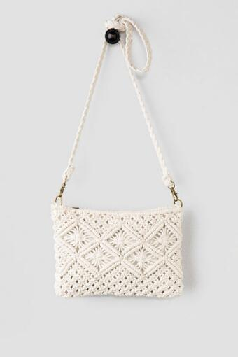Scarlett Cable Knit Bag