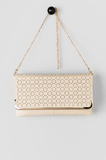 Sunny Perforated Clutch