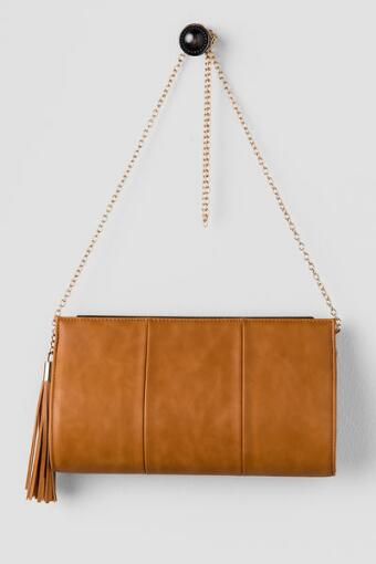 Edith Tassel Clutch