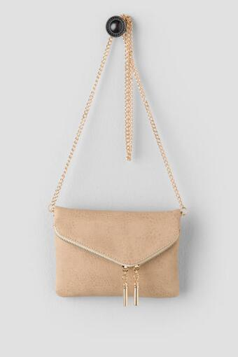 Marcy Mini Fold Over Crossbody Bag