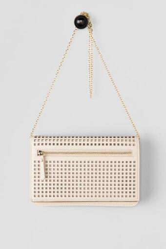 Louvre Perforated Clutch