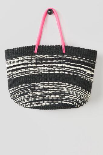 Sandy Stripe Beach Tote