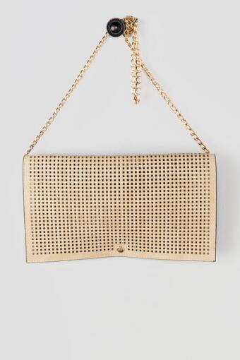 Minka Perforated Clutch
