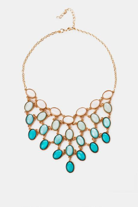 San Juan Ombre Necklace in Mint