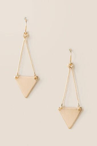 Merritt Triangle Drop Earrings