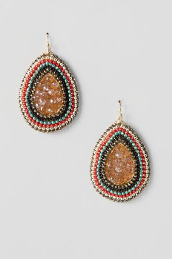 Burgoyne Beaded Teardrops