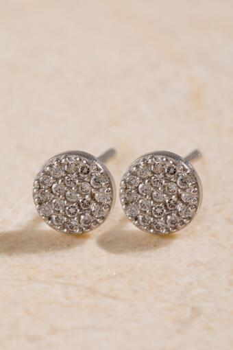 Elle Sterling Silver Stud Earrings
