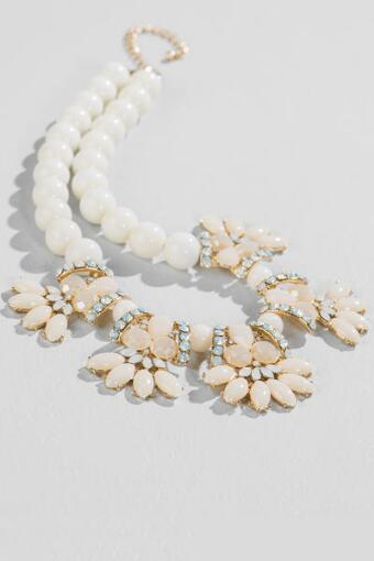 Marilyn Beaded Statement Necklace