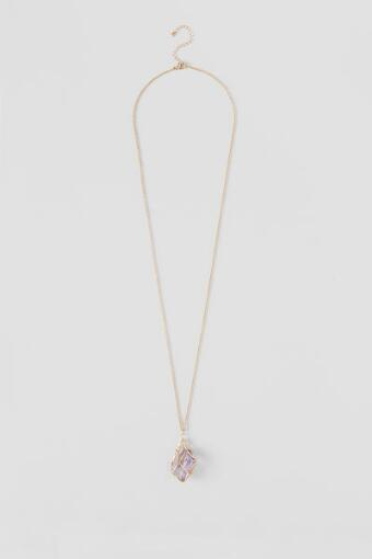 Dabney Caged Pendant Necklace