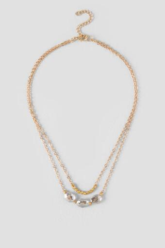 Justine Delicate Short Layered Necklace