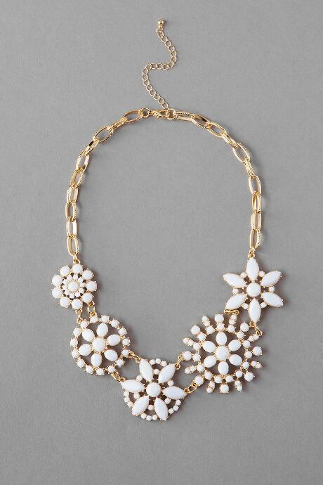 Vivian Jeweled Statement Necklace