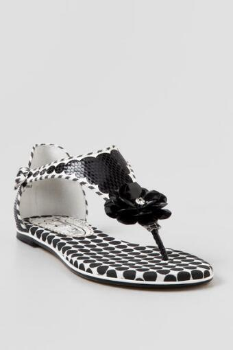Poetic License, Afterhours Black & White Sandal