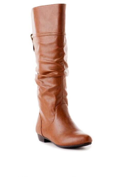 Bassett Slouch Boot in Tan