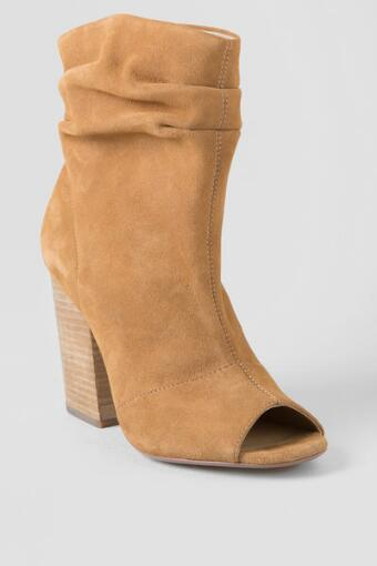Chinese Laundry, Breakup Suede Peep Toe Bootie