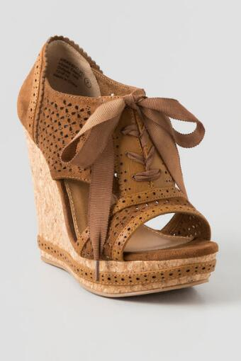 Cantina Lace Up Wedge
