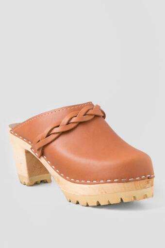 MIA, Elsa Leather Clog, Made in Sweden