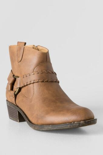 Gillian Harness Ankle Boot