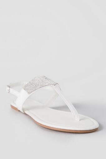 Siene Crystal Sandals